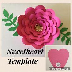 Paper Flower Patterns, Paper Flowers Craft, Paper Flower Wall, Paper Flower Backdrop, Paper Flower Tutorial, Flower Crafts, Diy Flowers, Paper Crafts, Giant Paper Flowers