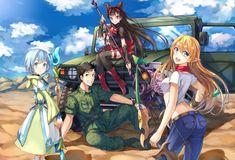 Anime - Gate: Jieitai Kanochi Nite, Kaku Tatakaeri Rory Mercury Lelei La Lalena Tuka Luna Marceau Youji Itami Wallpaper