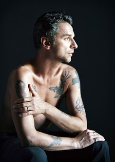 Dave Gahan, from the finest photography of Ethan Hill, via tumblr