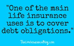 Income replacement and covering unpaid debts are primary uses for life insurance.