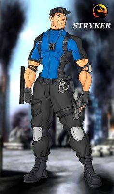 Stryker by Mawnbak.deviantart.com on @DeviantArt