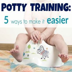 These 5 simple potty training ideas have helped a lot in our home and I hope to make it easier for you too.