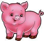 Ideas For Funny Cute Cartoon Faces Cartoon Cartoon, Cute Cartoon Faces, Funny Cartoon Pictures, Cartoon Drawings, Pig Illustration, Illustrations, Character Illustration, Baby Animals, Cute Animals