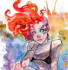 Delirium Sandman Art print via Etsy