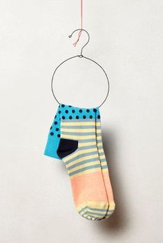 For a start the sock-hanger is wonderful but I love the mix of patterns and the subtle yet interesting colouring.