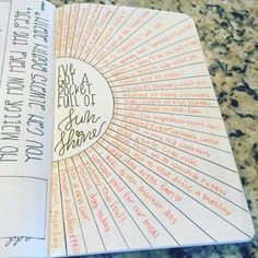 Heartisticjess gratitude sunshine. Top 8 Bullet Journal Ideas for 2016 – Bullet Journal®