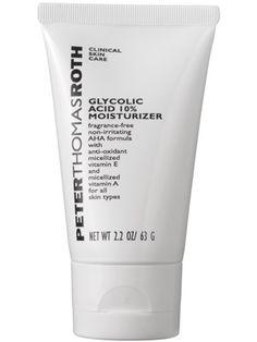 Peter Thomas Roth Glycolic Acid 10% Moisturizer: Skin Care: allure.com