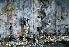 Wang Qingsong: When Worlds Collide | International Center of Photography