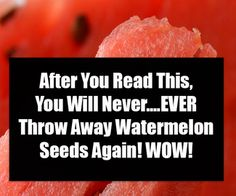As the watermelon itself is delicious and nutritious, many people are unaware of how much watermelon seeds benefit their health. Most of the people, while eating watermelon remove and thrown the seeds. Monday Humor Quotes, Funny Monday, Eating Watermelon, Love My Son Quotes, Daughter Quotes, Best Mother, Bad Breath, Burn Belly Fat, Easy Food To Make