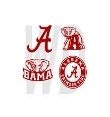 Image result for alabama crimson tide christmas ornaments svg
