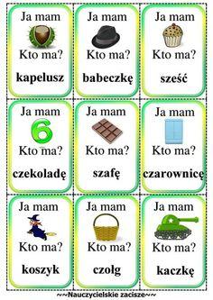 Learn Polish, Polish Words, Speech And Language, Education, Learning, School, Origami, Speech Language Therapy, Montessori Activities