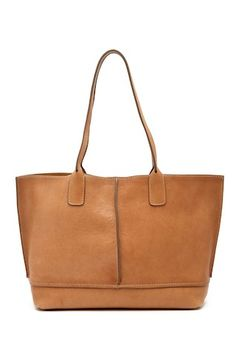 Lucy Leather Tote Bag