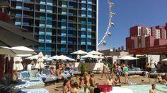 The Linq pool Las Vegas! 🌴