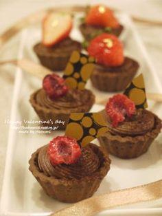 「【バレンタイン】ミニチョコムース」はつみ | お菓子・パンのレシピや作り方【corecle*コレクル】