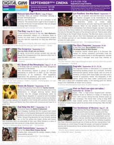 Terry Gilliam, The Congress, The Dog, Besos de Azucar & more! Amazing September movies at Digital Gym CINEMA in North Park. See them on the BIG screen at San Diego's coolest movie theater. Film schedule, trailers -  http://digitalgym.org/category/cinema/