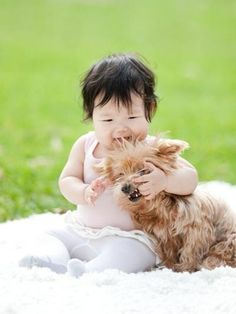 50 Toddlers Who Are Best Friends With Their Dogs - via http://bit.ly/epinner
