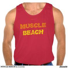 MUSCLE BEACH TANK TOPS