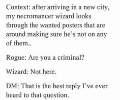 Post with 3503 votes and 155965 views. Tagged with funny, dnd, phone dump; Shared by PyroPatriot. Tumblr Funny, Funny Memes, Hilarious, Writing Tips, Writing Prompts, Dnd Stories, Dnd Funny, Funny Shit, Funny Stuff