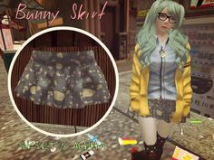 ~Kawaii Tofu~Bunny Skirt *FREEBIE*