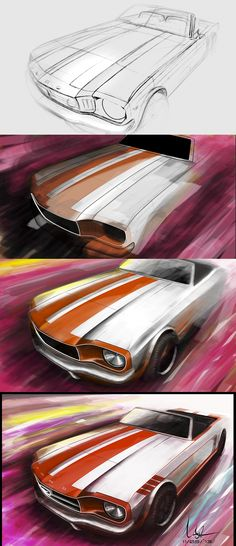 tutorial car sketch by alison Gfx Design, Car Design Sketch, Car Sketch, Sketches Tutorial, Industrial Design Sketch, Car Illustration, Transporter, Car Posters, Car Drawings