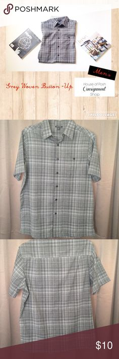 💎Men's Woven Button Down Casual Short Sleeve M. Men's Woven Button Down Casual Short Sleeve M. NWOT. Chest 38-40 M George Shirts Casual Button Down Shirts