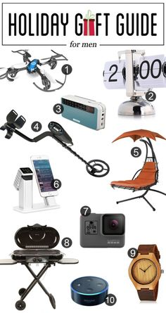 Holiday Gift Guide for Men | Gifts For Men