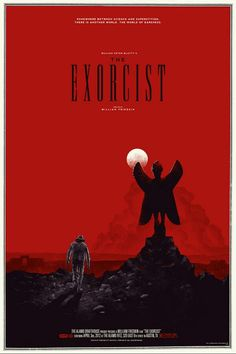The Exorcist Alternative movie posters & Artwork created by some very talented people.  #movieposters #movietwit #scifi #scififantasy #fantasy #action #adventure #drama #artwork #StarWars #startrek #Marvel #DC #Disney #HorrorMovies #Alternative