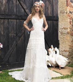 Kleid von Fabienne Alagama