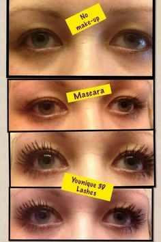 No falsies, transform your lashes with just mascara it's called 3D mascara. shop for yours here  https://www.youniqueproducts.com/MarysolFlores/party/237401/view