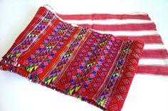 Vintage Guatemalan Textile by LunaParkVintage on Etsy