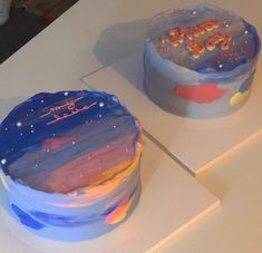 #aesthetic #cake #korean Pretty Birthday Cakes, Pretty Cakes, Mini Cakes, Cupcake Cakes, Simple Cake Designs, Korean Cake, Pastel Cakes, Think Food, Birthday Cake Decorating