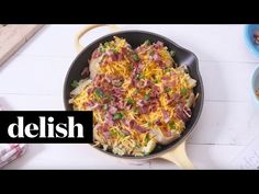 Best Loaded Smashed Potatoes Recipe - How To Make Smashed Potatoes - Delish.com