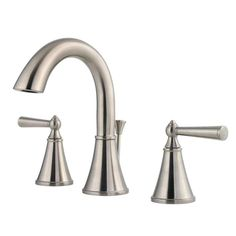View the Pfister LG49-GL0 Saxton Widespread Bathroom Faucet with Metal Pop-U at FaucetDirect.com.