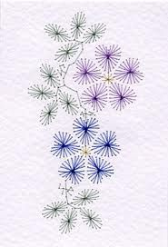 hand embroidery stitches for flowers - Google Search