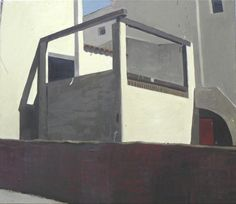 Mediterranean cube, 2004, oil on canvas