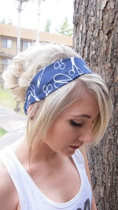 scissor headband. $12.00, via Etsy. Fun gift for a hairstylist friend!