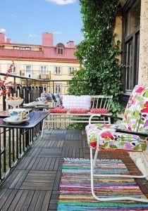 Ideas de balcones pequeños