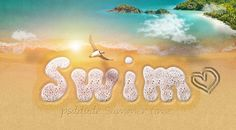 Start your Photoshop summer vacation by learning how to create this sea foam text style with sand writing effects. Using the foam seamless pattern and just a few layer styles we'll create a realistic water text effect. To make the water text pop I added a sandy beach photo manipulation as background. All these were created with love in Adobe Photoshop.
