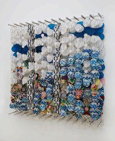 Jacob Hashimoto, Untitled, 2012, courtesy the artist and Ronchini Gallery