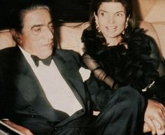 Aristoteles Onassis and Jacqueline Kennedy.