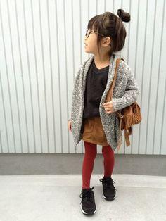 Toddler girl skirt sweater tights