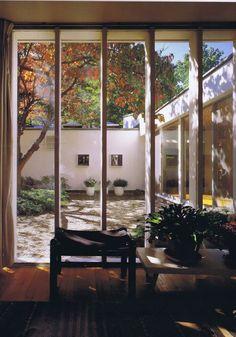 "scandinaviancollectors: ""Josep Lluís Sert, an interior from the Sert´s House, Cambridge, "" Atrium, Casa Patio, Courtyard House, Love Home, Interior Architecture, My House, New Homes, House Design, Cambridge Ma"