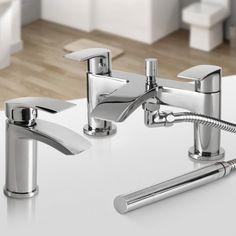 Nelas Basin & Shower Bath Mixer Tap Set - soak.com
