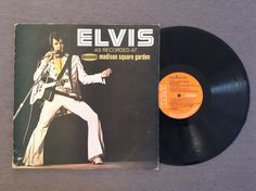 Elvis As Recorded At Madison Square Garden by Elvis Presley, 1972, LP