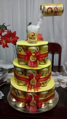 Festa Boteco - Veja 100 Fotos Inspiradoras e Dicas de Como Fazer a Sua Fake Cake, Bacchus, Open House, Buffet, Food And Drink, Happy Birthday, Table Decorations, Desserts, Bolo Fake
