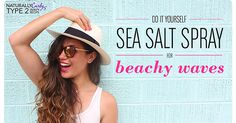 use this sea salt spray as a finisher on damp hair to tighten my ...