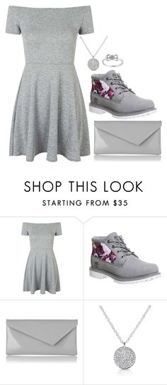 """simply silver -✩ Holly ✩- // happyhippolover"" by the-southern-belles ❤ liked on Polyvore featuring Topshop, Timberland, L.K.Bennett and hollysclassics"