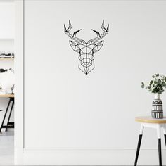 Minimalist Home Deco Removable Wall Decals, Wall Decal Sticker, Wall Stickers, Minimalist Home, Scandinavian Style, Decorating Your Home, Baby Boy, Hacks, Pillows
