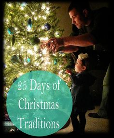 25 Days of Christmas Traditions. Some excellent ideas. I love baking the cookies, and driving around looking at lights