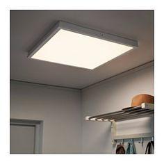 FLOALT LED ljuspanel med trådlös styrning, dimbar, vitt spektrum - 60x60 cm - IKEA